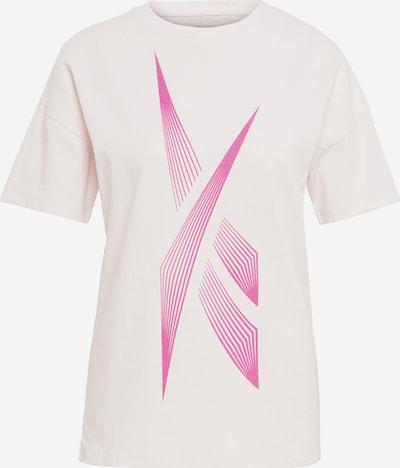 REEBOK T-Shirt 'Graphic Vector ' in pastellpink / dunkelpink, Produktansicht