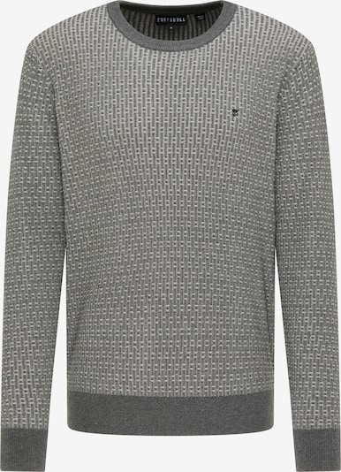 TUFFSKULL Pullover in grau / hellgrau, Produktansicht