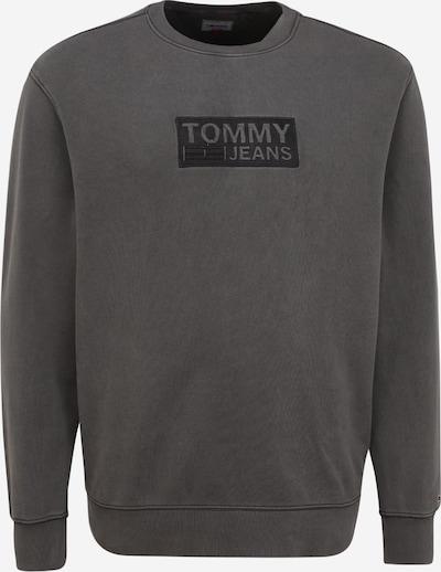 Tommy Jeans Plus Sweat-shirt en noir / noir chiné, Vue avec produit