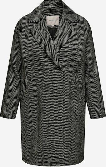 ONLY Carmakoma Manteau mi-saison 'Sofia' en gris clair / noir, Vue avec produit