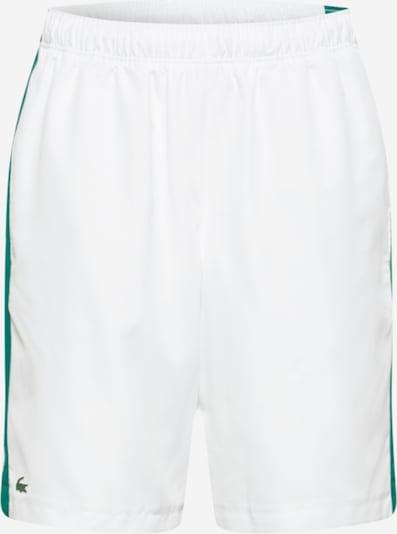 Lacoste Sport Spodnie sportowe w kolorze zielony / białym, Podgląd produktu