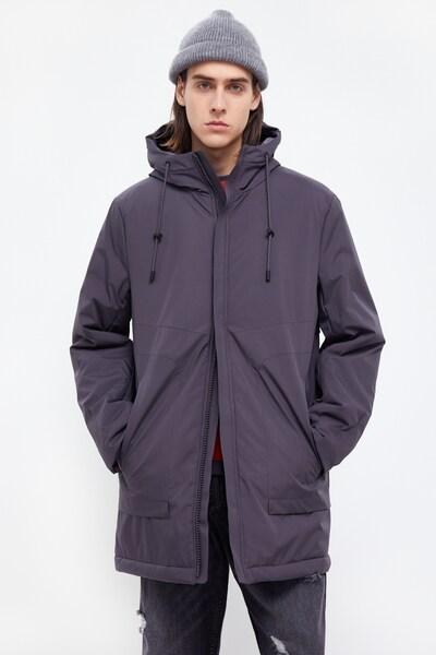Finn Flare Jacke in dunkelgrau, Modelansicht