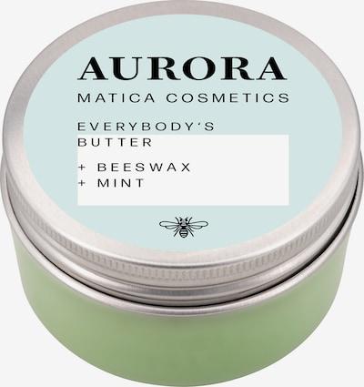 Matica Cosmetics Bodybutter 'Aurora' in türkis / grün / weiß, Produktansicht