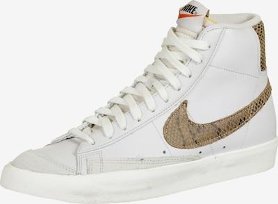 NIKE Schuhe 'Blazer MID 77 Vintage' in gold / weiß, Produktansicht