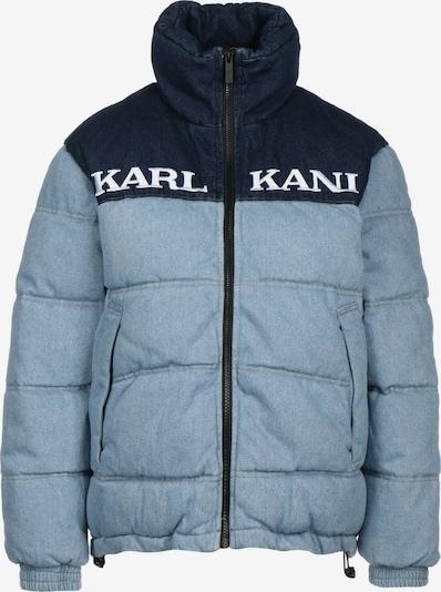 Karl Kani Winterjacke in marine / himmelblau / weiß, Produktansicht