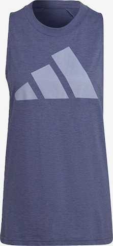 ADIDAS PERFORMANCE Sporttop in Lila