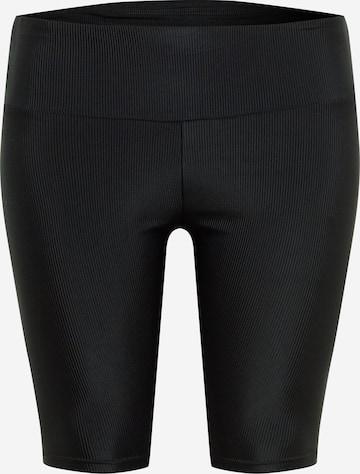 Urban Classics Curvy Παντελόνι σε μαύρο