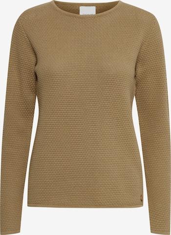 Oxmo Sweater 'Helen' in Brown