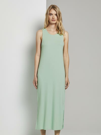 TOM TAILOR DENIM Kleid in mint, Modelansicht