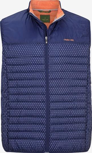 Charles Colby Bodywarmer 'Sir Benedict' in de kleur Donkerblauw / Wit, Productweergave