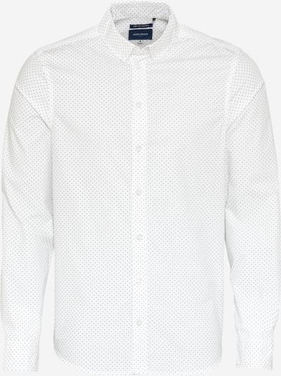 BLEND Shirt in Marine / White, Item view