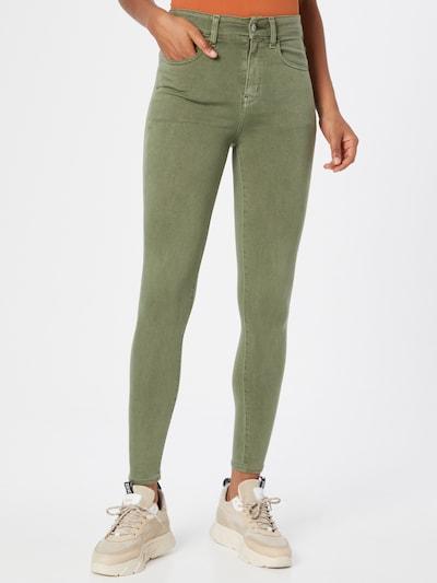 Jeans '4456 SUPER HIGH RISE' American Eagle pe verde deschis, Vizualizare model