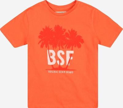 BASEFIELD Camiseta en coral / rojo anaranjado / blanco, Vista del producto