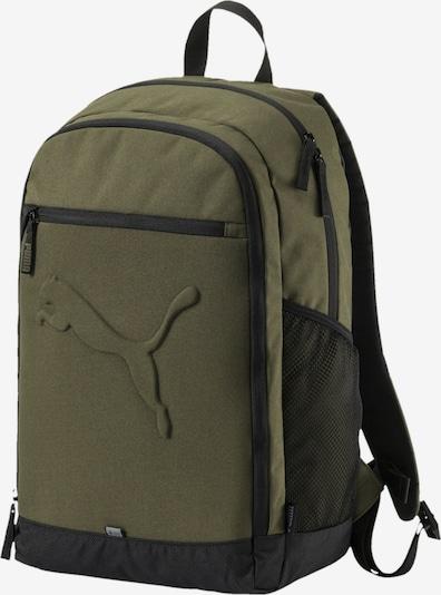 PUMA Buzz Rucksack in grün / schwarz, Produktansicht