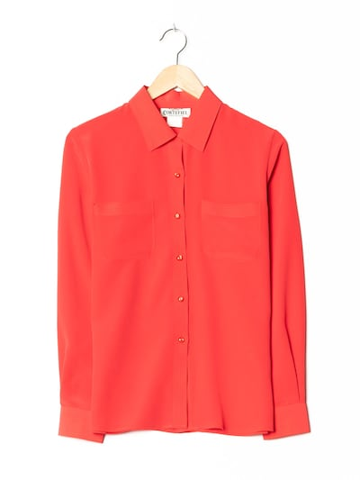 Cortefiel Blouse & Tunic in M-L in Fire red, Item view