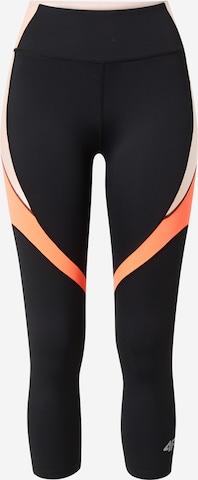 Pantaloni sport de la 4F pe negru