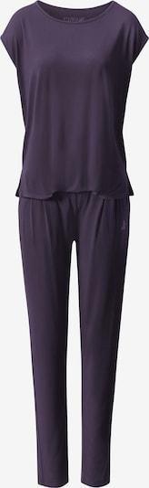 CURARE Yogawear Onepiece in lila, Produktansicht