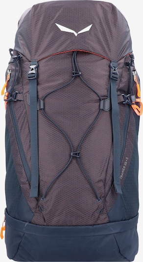 SALEWA Rucksack 'Alp Trainer' in enzian / beere / orange, Produktansicht