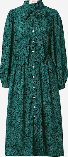 Louche Košulja haljina 'Zuri Lucky Flower' u tamno plava / tamno zelena / bijela, Pregled proizvoda