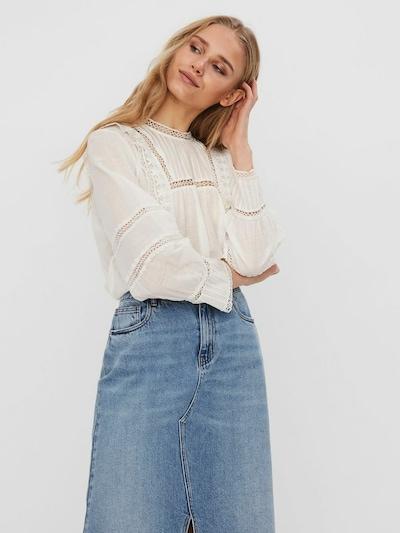 Bluză 'Etty' VERO MODA pe alb natural, Vizualizare model