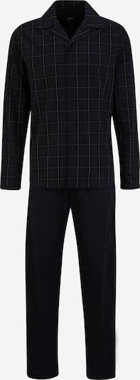 jbs Pyjama in ultramarinblau / weiß, Produktansicht