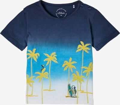 s.Oliver Shirt in de kleur Blauw / Geel / Groen / Wit, Productweergave