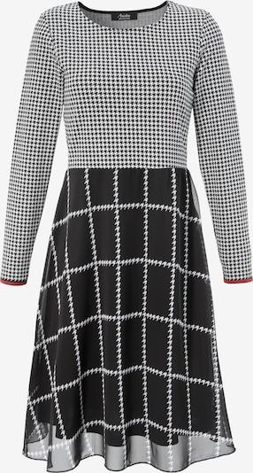 Aniston SELECTED Kleid in schwarz / weiß, Produktansicht