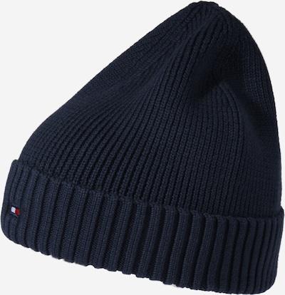 Megzta kepurė iš TOMMY HILFIGER , spalva - tamsiai mėlyna / raudona / balta, Prekių apžvalga