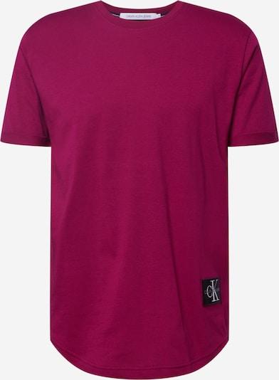 Calvin Klein Jeans Tričko - burgundská, Produkt