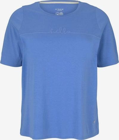 Tricou MY TRUE ME pe albastru, Vizualizare produs