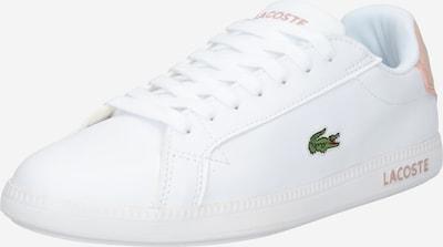 LACOSTE Nízke tenisky 'GRADUATE' - zelená / broskyňová / biela, Produkt