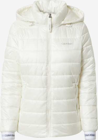 Calvin Klein Jacke in grau / schwarz / weiß / perlweiß, Produktansicht