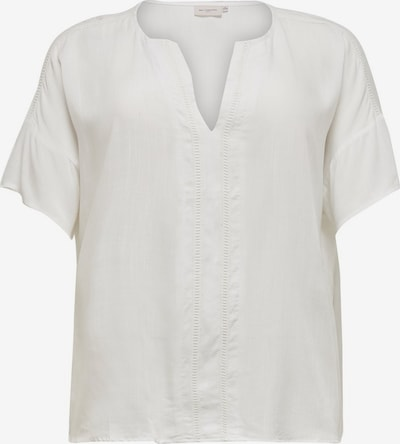 ONLY Carmakoma Bluse in weiß, Produktansicht