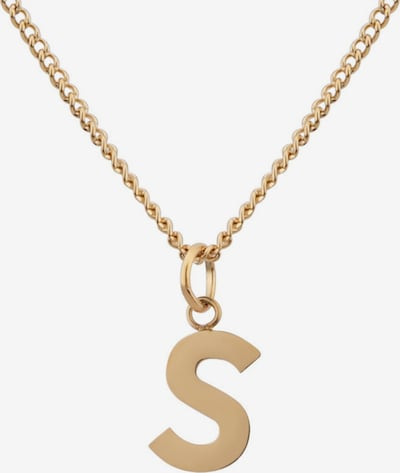 GOOD.designs Buchstabenkette in gold, Produktansicht