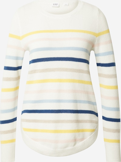GAP Sweter w kolorze mieszane kolory / białym, Podgląd produktu