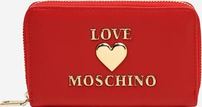 Love Moschino Porte-monnaies en or / rouge, Vue avec produit