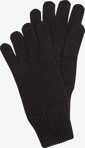 s.Oliver Fingerhandschuhe in Schwarz