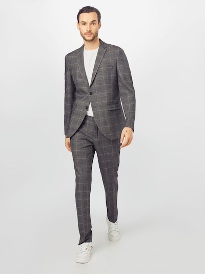 SELECTED HOMME Suit in brown / grey, View model