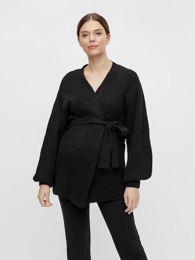 MAMALICIOUS Strickjacke 'Paula' in schwarz, Modelansicht