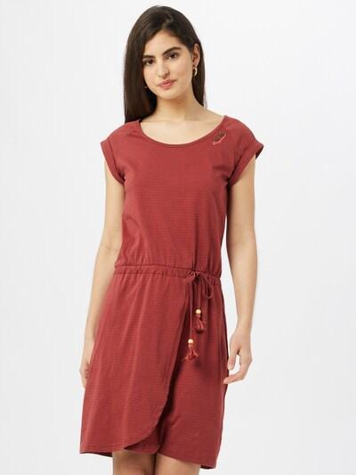 Ragwear Šaty - rezavě červená / bílá, Model/ka