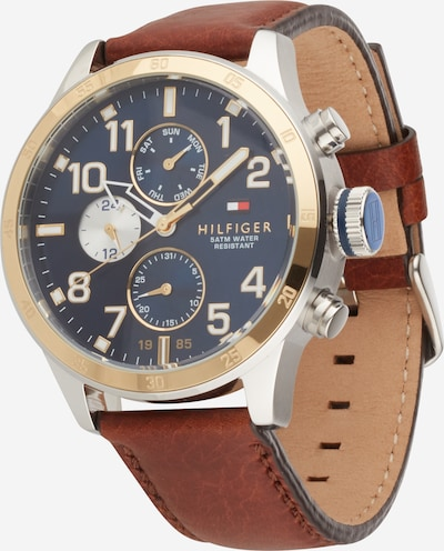 TOMMY HILFIGER Analógové hodinky - hnedá, Produkt