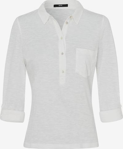 zero Poloshirt in weiß, Produktansicht