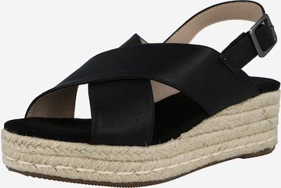 ABOUT YOU Sandal 'Mona' in Black, Item view