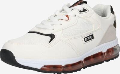 BJÖRN BORG Brīvā laika apavi 'X500 DCA K', krāsa - melns / balts, Preces skats
