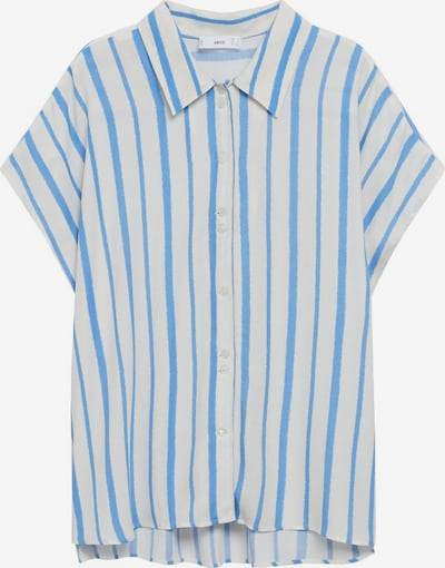 MANGO Bluza 'Jean' u nebesko plava / bijela, Pregled proizvoda