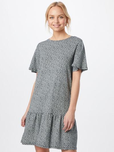 EDC BY ESPRIT Kleid in navy / weiß, Modelansicht