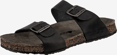 HAFLINGER Pantolette 'Andrea' in schwarz, Produktansicht