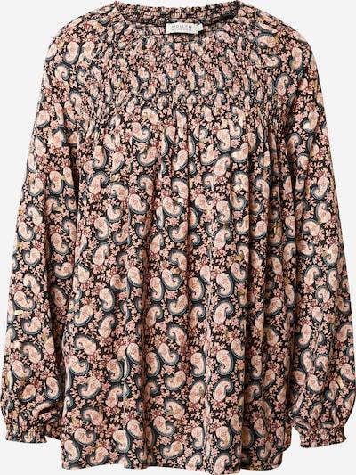 Molly BRACKEN Bluse in taubenblau / zitrone / rosa / rosé / schwarz, Produktansicht