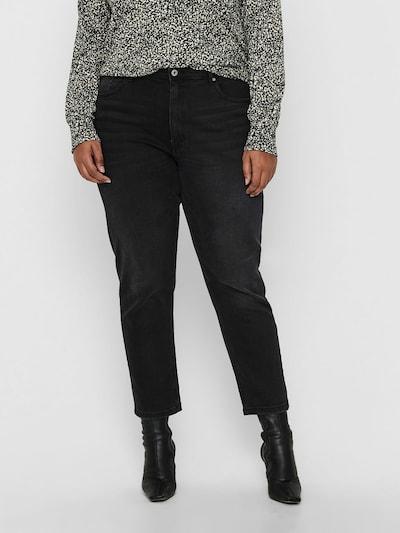 ONLY Carmakoma Jeans in schwarz, Modelansicht