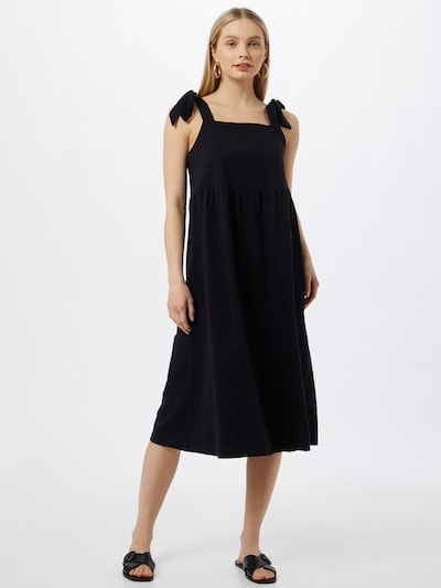 ESPRIT Robe en noir, Vue avec modèle